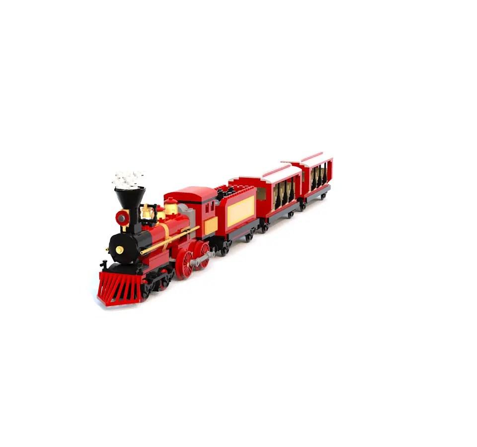 LEGO Ideas: Main Street U.S.A. Train Station LEGO Project 2