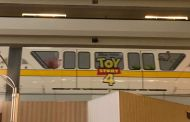 New Toy Story 4 Monorail Wrap shows up at Disney World