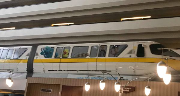 New Toy Story 4 Monorail Wrap shows up at Disney World 4
