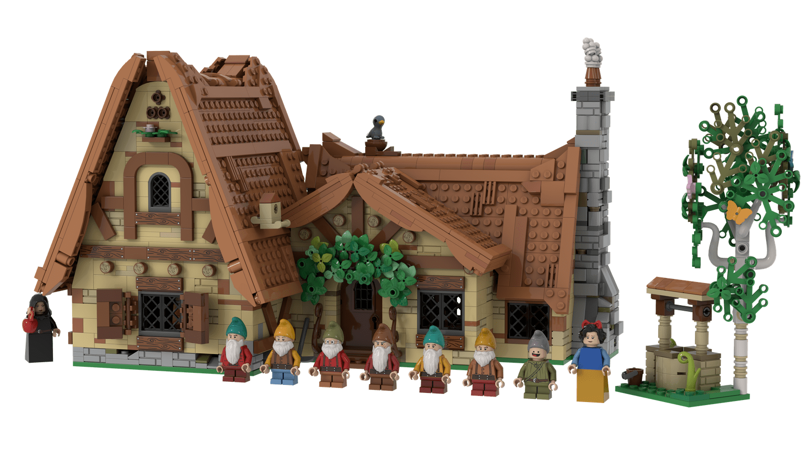 LEGO IDEAS: The Seven Dwarfs House LEGO Project 2