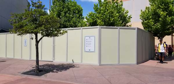 Construction Walls Up Around the Chinese Theatre! 2
