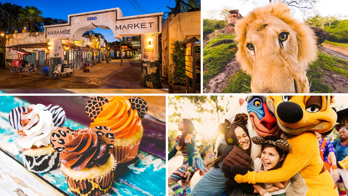 New Lion King Themed Dining Adventure, Circle of Flavors: Harambe at Night Coming To Animal Kingdom