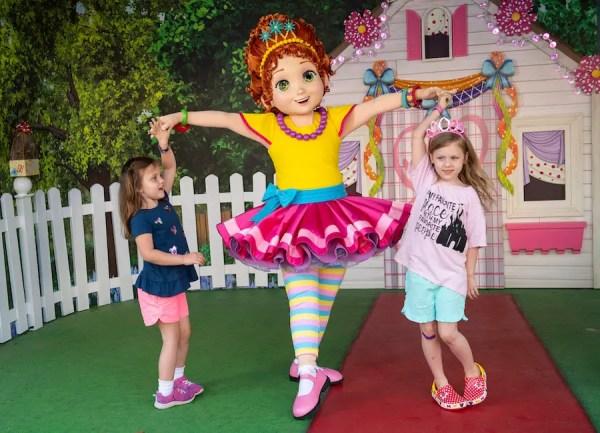 Disney Junior Play 'n Dine is now Featuring Fancy Nancy.