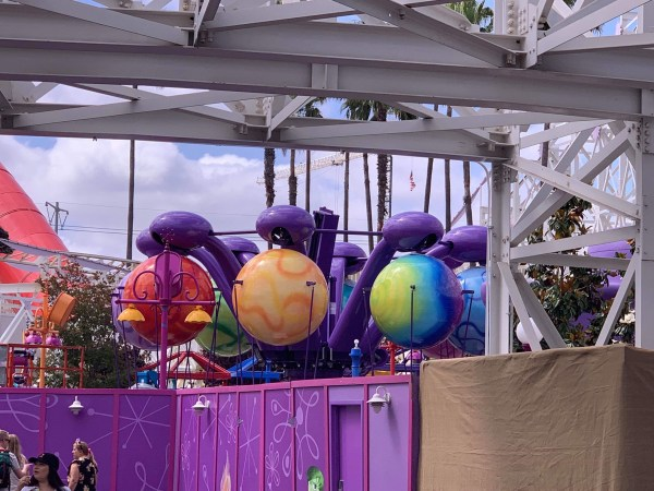 Construction Update on Inside Out Emotional Whirlwind