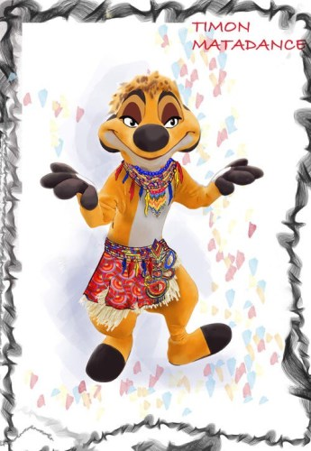 """Learn How to """"MataDance"""" with Timon at Disneyland Paris! 2"""