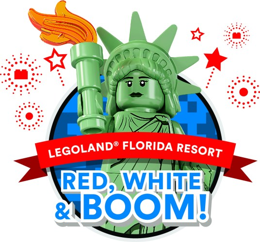 LEGOLAND Florida Resort Kicks Off Awe-Summer Event Series with Independence Day Celebration Red, White and Boom 1