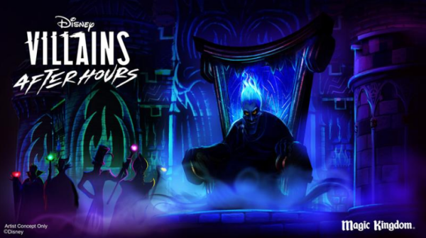 Disney Villains After Hours Schedule and Attractions 1
