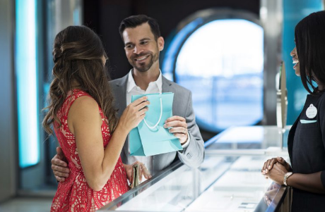 Tiffany & Co. Opens Today On the Disney Dream Cruise Ship