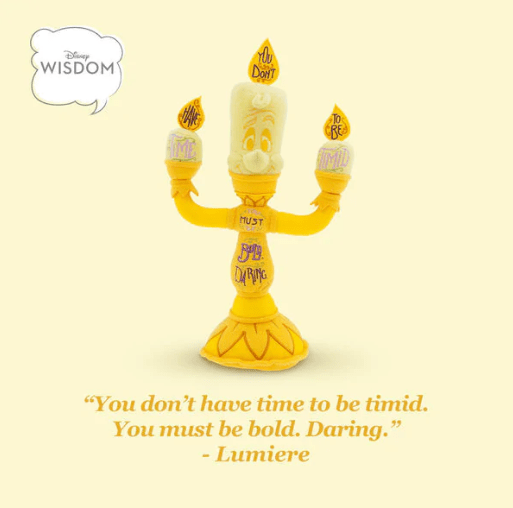 June Disney Wisdom Collection Starring Lumiere 3