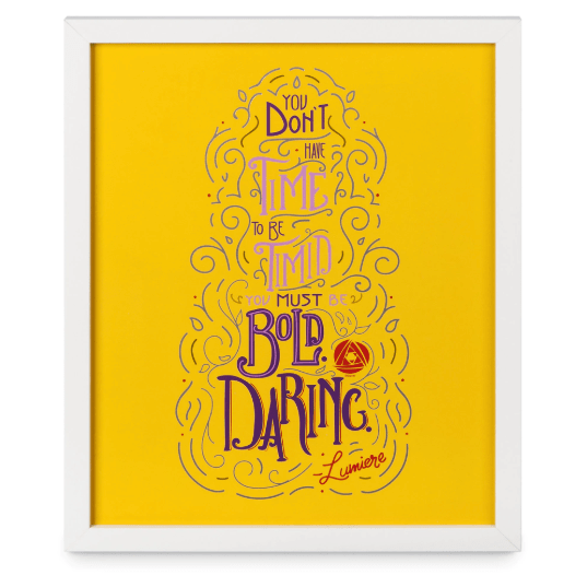 June Disney Wisdom Collection Starring Lumiere 13