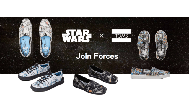TOMS x Star Wars Collection Launching July 2nd 1