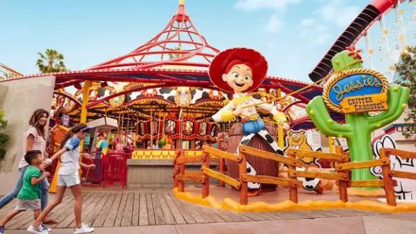 Disneyland Pixar Pier Rootin Tootin Sweepstakes
