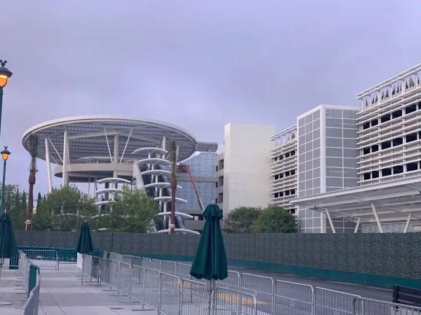 Pixar Pals Disneyland Resort Parking Structure Almost Complete.