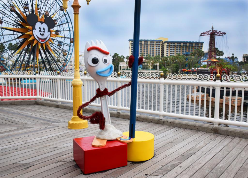 Forky Photo Opportunity
