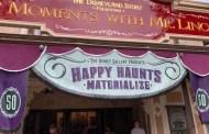 Happy Haunts Materialize Exhibit At the Disneyland Resort