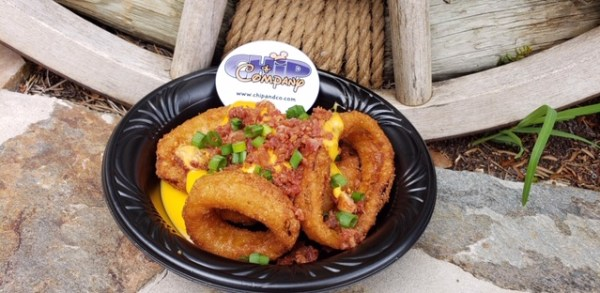 New Loaded Onion Rings At Golden Oak Outpost