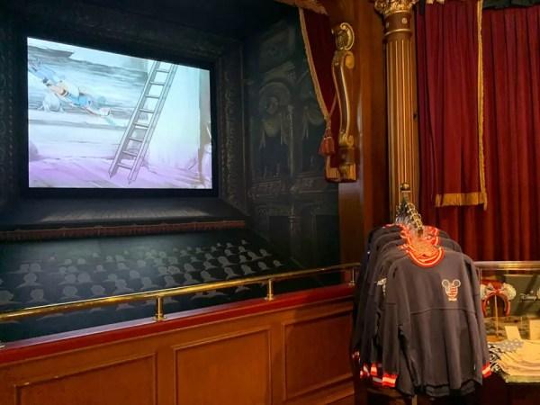 New Shop in Disneyland's Main Street Cinema