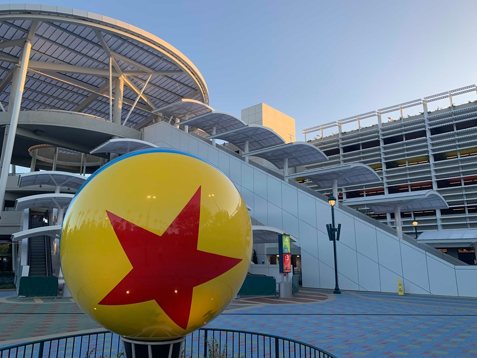The Pixar Pals Parking Structure is Open at Disneyland Resort