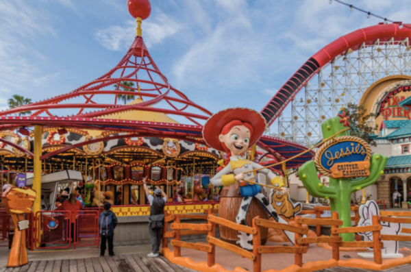 Pixar Pier Celebrates Imagination at Disney California Adventure Park 3