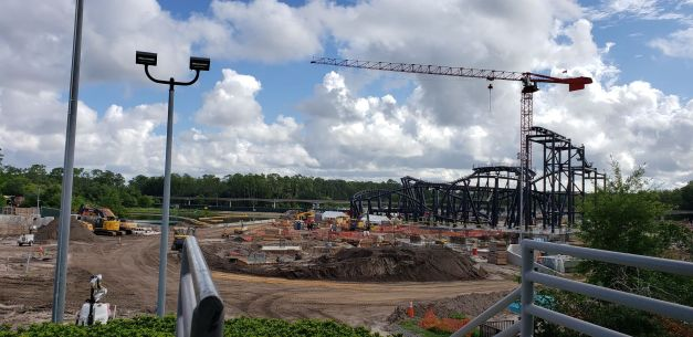 More Updates for TRON Coaster at the Magic Kingdom