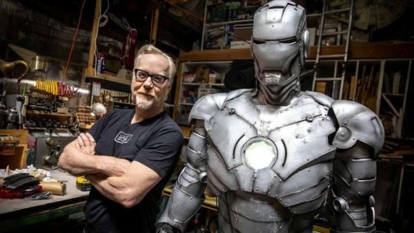 'Mythbusters' Adam Savage Builds Mark 2 Iron Man Flight Suit 1