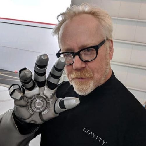 'Mythbusters' Adam Savage Builds Mark 2 Iron Man Flight Suit 2