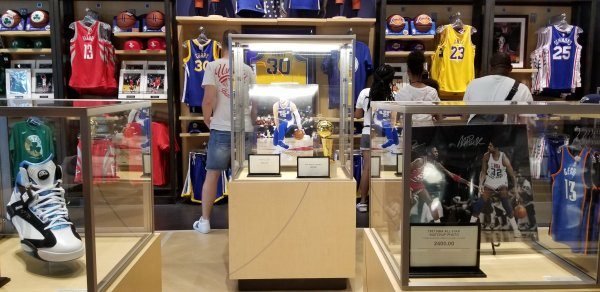 The NBA Experience Store Now Open in Disney Springs 7