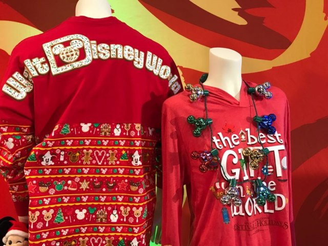 Four New Holiday Disney Spirit Jerseys Coming This Holiday Season! 1