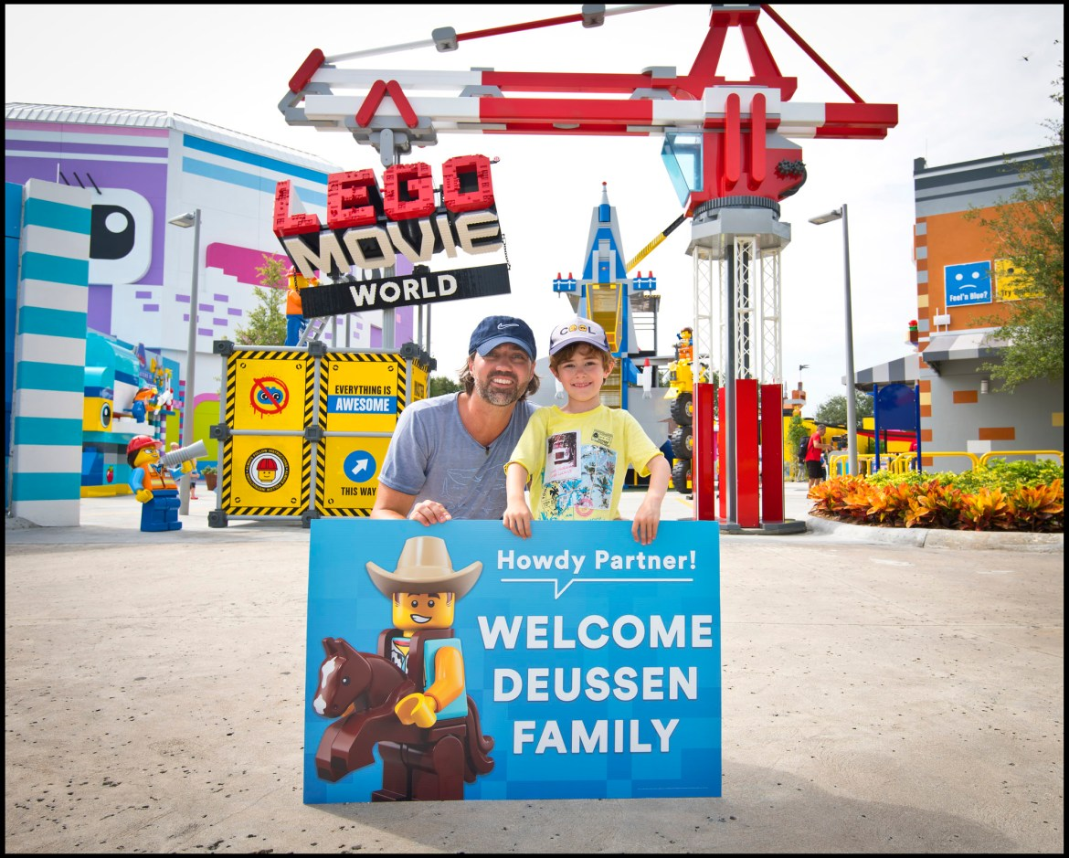 Father and Son Visit All LEGOLAND Theme Parks Around the World
