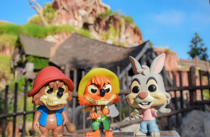 New Splash Mountain Funko Pop! Collection Is Splashing Down 1