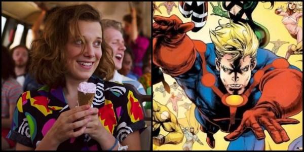 """Stranger Things"" Star Millie Bobby Brown Rumored to be Cast in Marvel's ""The Eternals"" 1"