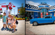 NASCAR Driver Aric Almirola Celebrated Independence Day With Family at LEGOLAND Fl