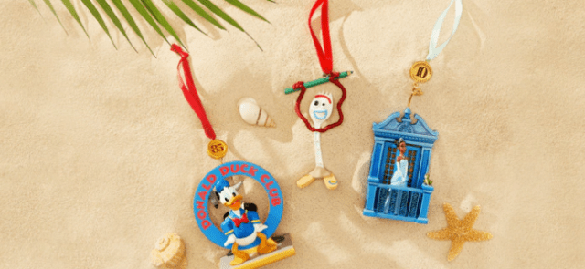 Disney Sketchbook Ornaments Deck The Halls For Christmas In July 1