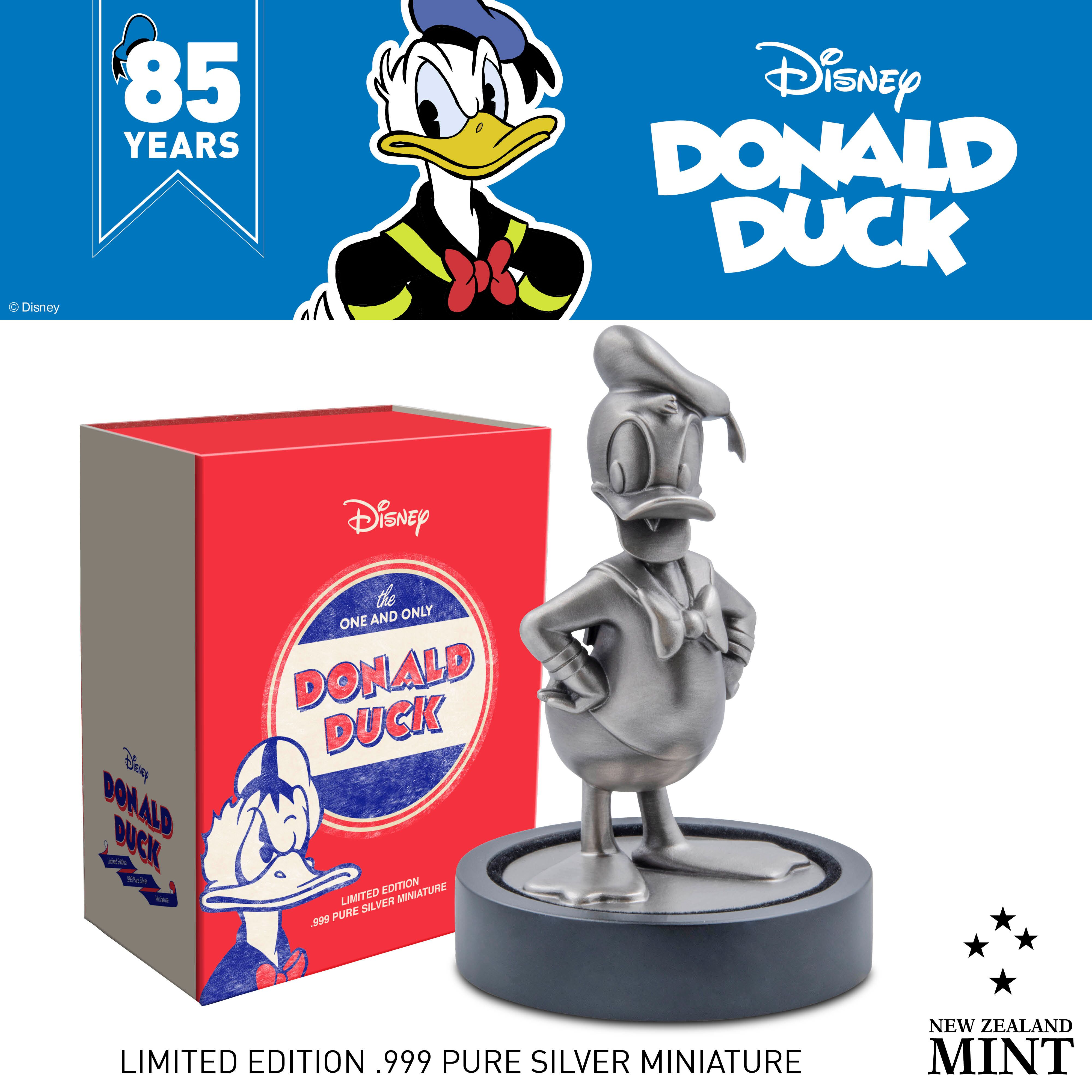 Donald Duck 85th Anniversary Coin Collection From New Zealand Mint 4