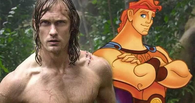 Alexander Skarsgard in Talks for Live Action Hercules