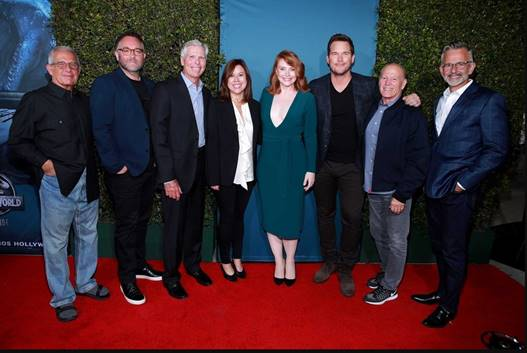 """Universal Studios Hollywood Marks the Grand Opening of """"Jurassic World—The Ride"""" with a Star-Studded Celebration 2"""