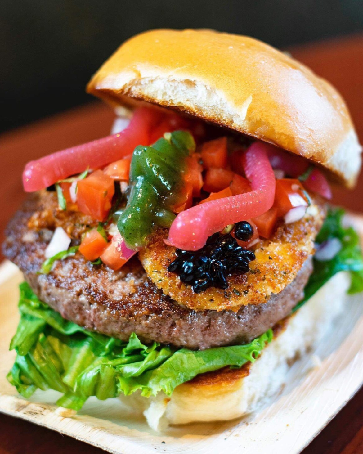 """New """"Grub"""" Burger Offered at D-Luxe Burger in Disney Springs"""