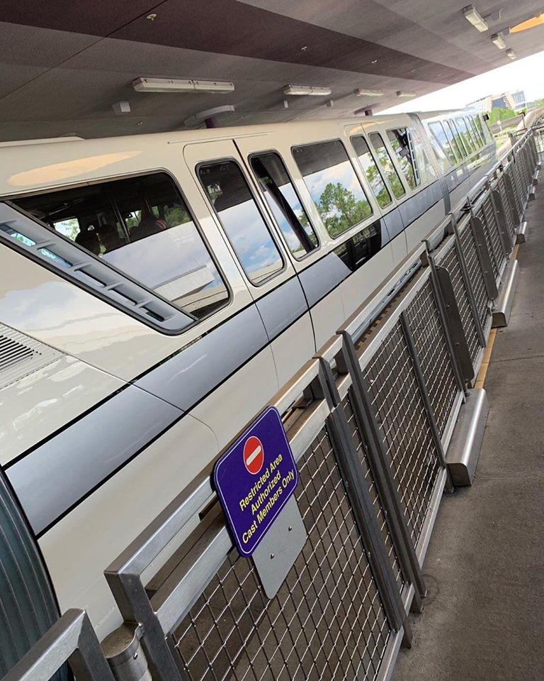 WDW Monorail Silver Upgrade
