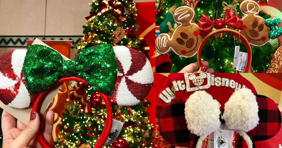 Check Out This Year's Holiday Minnie Ears And Mickey Ears!