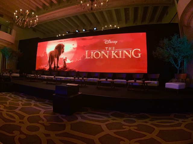 Disney's The Lion King Press Conference