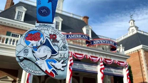 Disney Race Medals Unveiled for 10th Anniversary Wine & Dine Half Marathon Weekend at Walt Disney World