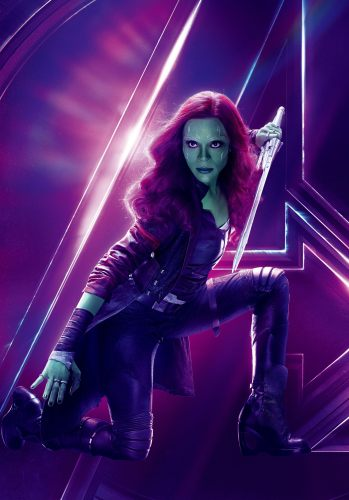 Zoe Saldana Discusses the Future of Gamora with the Guardians of the Galaxy 1