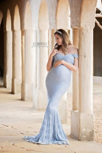 Photography Couple Coordinated Disney Princess Inspired Maternity Shoot 15