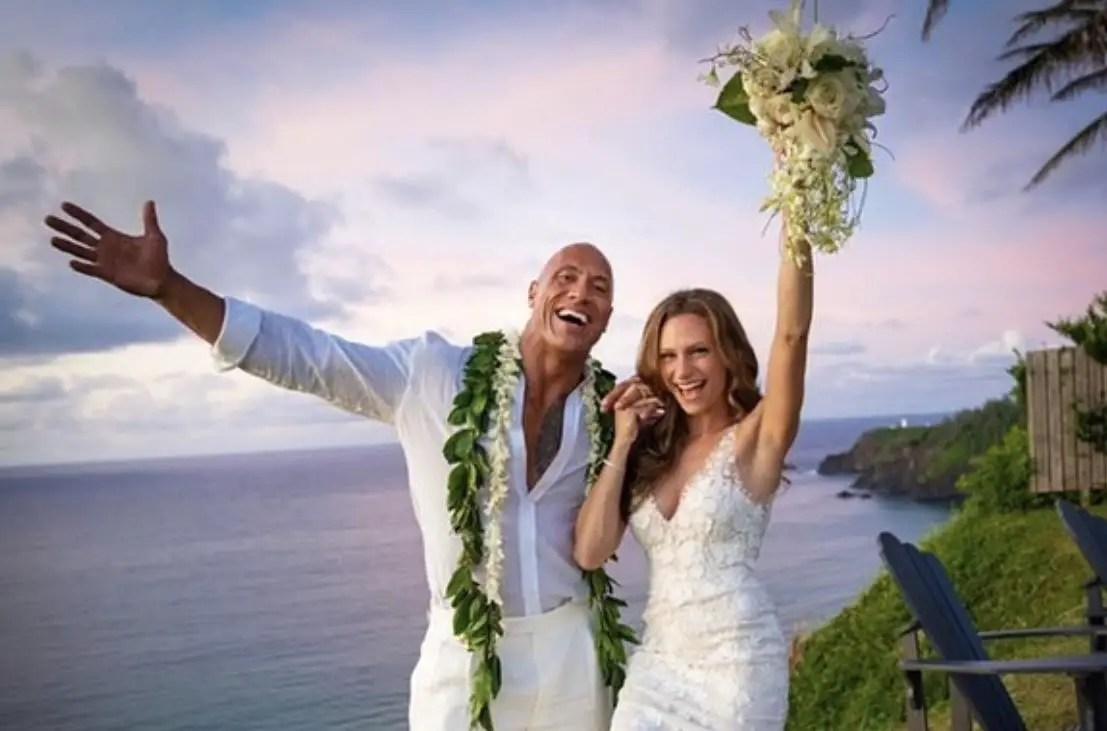 "Dwayne ""The Rock"" Johnson and Lauren Hashian Have Secret Wedding In Hawaii"