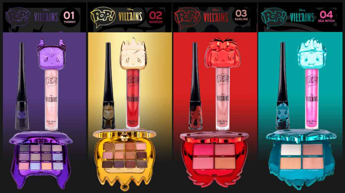 Wicked Cute Disney Villains Makeup Collection Coming Soon From Funko
