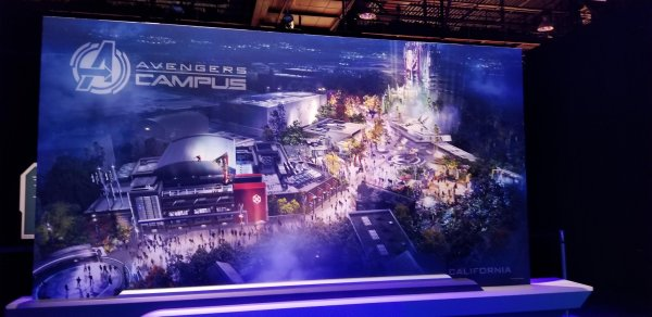 First look at the Avengers Campus Coming to Disney's California Adventure and Disneyland Paris 3