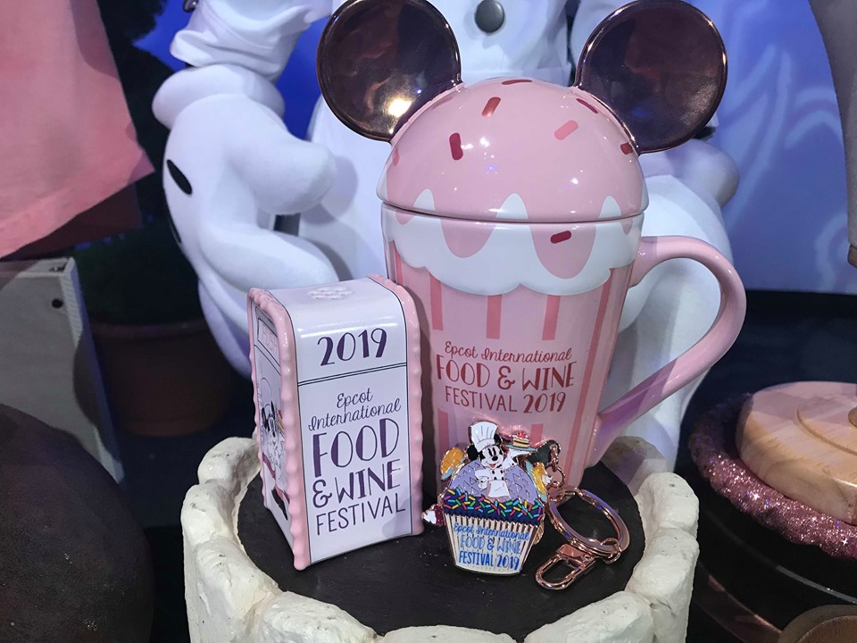 First Look At The 2019 Epcot Food And Wine Festival Merchandise