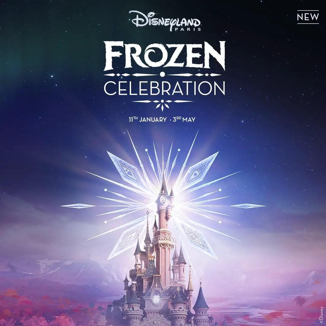 Frozen Celebration Coming to Disneyland Paris
