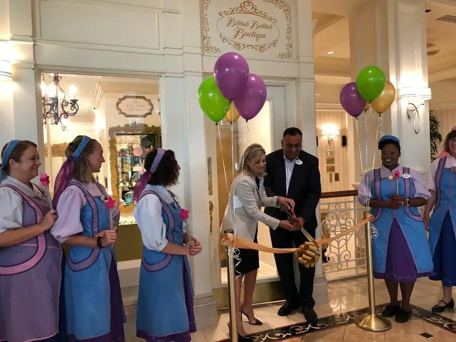 Bibbidi Bobbidi Boutique Now Open At Disney's Grand Floridian