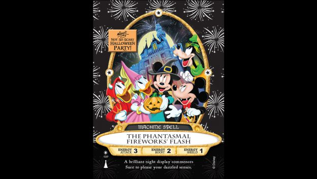 First Look at 'The Phantasmal Fireworks Flash' Sorcerers of the Magic Kingdom Card